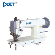 DT 0303 single needle top e bottom feedstitch máquina de costura de mesa com corte automático de borda