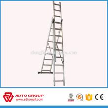 Escalera de seguridad plegable de aluminio de precio ligero