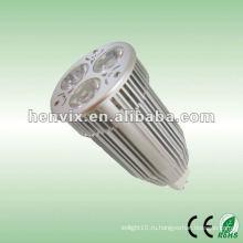 Встраиваемый потолочный светодиодный прожектор MR16 9w