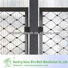 Гибкие ворота из проволочной сетки из нержавеющей стали, изготовленные в Китае