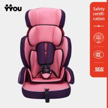 Pink Baby Car Seat