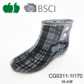 Ladies Fashion Fancy Custom Logo Rain Boots