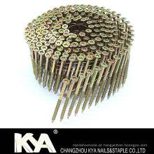 (Cabeça quadrada) Parafuso de arame galvanizado para confecção, indústria