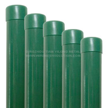 38mm PVC Coated Fence Round Post