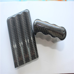 original unique carbon fiber cigar humidor tube