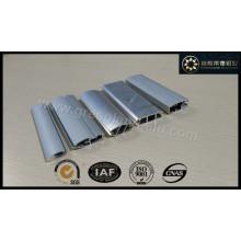 Cortina de janela anodizada de alumínio Perfil de trilho Série de calha inferior