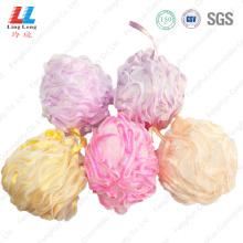 Shinning rope mesh sponge