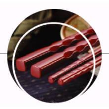 100% Melamina Chopsticks Estilo Japonês-22.5cm / 25cm (LL111S / 112S)