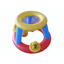 Floating basketball hoop for children