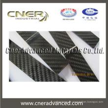Tablero de fibra de carbono de corte CNC CNER 100% carbono puro