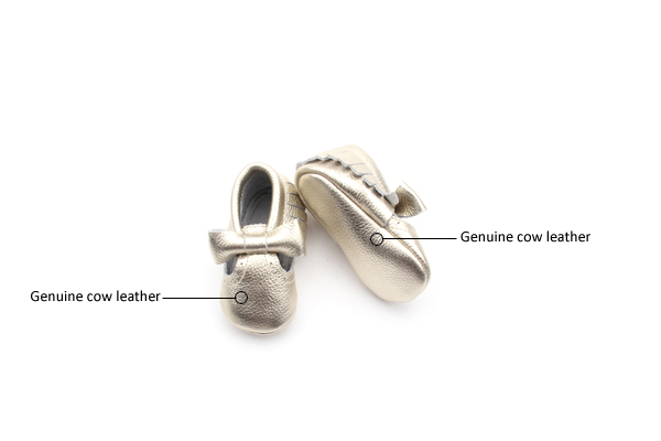 Bow Baby Moccasins Shoes