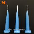 Inspection gratuite plusieurs couleurs disponibles bougies d'anniversaire en forme de balle bleu clair pour gâteau
