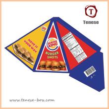 Nova embalagem de papel de design de alimentos