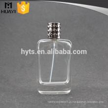 Pulverizador 100ml claro do vidro de frasco do perfume