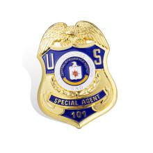 Значок безопасности Значок безопасности полицейского значка (GZHY-KA-018)