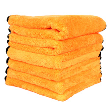 Orange Color Easy Clean Weft Knitting Cloth