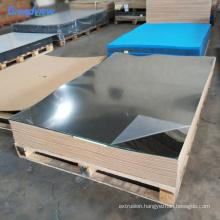 wholesale unbreakable adhesive high glossy thin silver plexiglass mirror sheet
