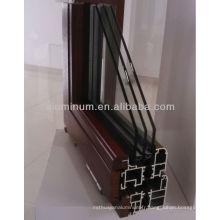 Profils d'extrusion en aluminium de bois