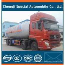 Camion citerne de 8 x 4 12wheels GPL gaz Bobtail