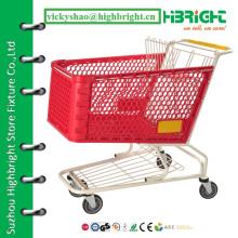 Пластиковая тележка для покупок, личная корзина для покупок, корзина для покупок