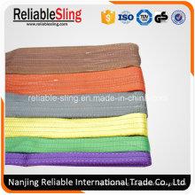 Factory Price Wear Resistant Color Code Polyester Duplex Webbing Strap