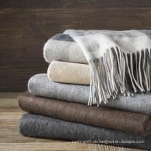 Warm Lambs Wolle gewebte Decken