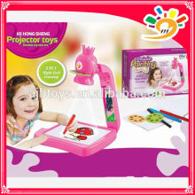 2014 HOT SELLING PRODUCTS! TWO IN ONE PROJECTION PAINTING KE HONG SHENG 1111 projector toys painting best gift for kids