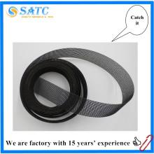 rouleau de ponçage de carbure de silicium pour le dérouillage et le polissage de la surface métallique
