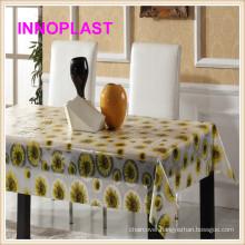 Vinyl PVC Table Oilcloth / Table Cloths New Designs