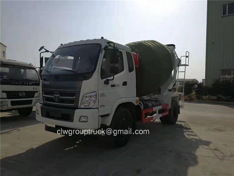 Mixer Truck 1