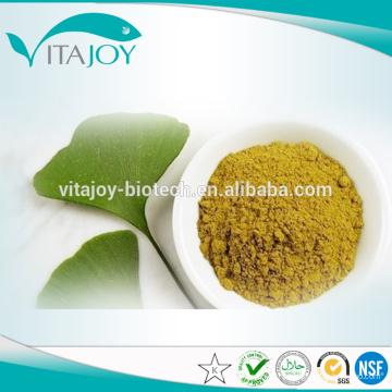 Стандарт EP / USP Стандартный экстракт гинкго билобы Гликозиды24%, терпеновые лакозиды6%