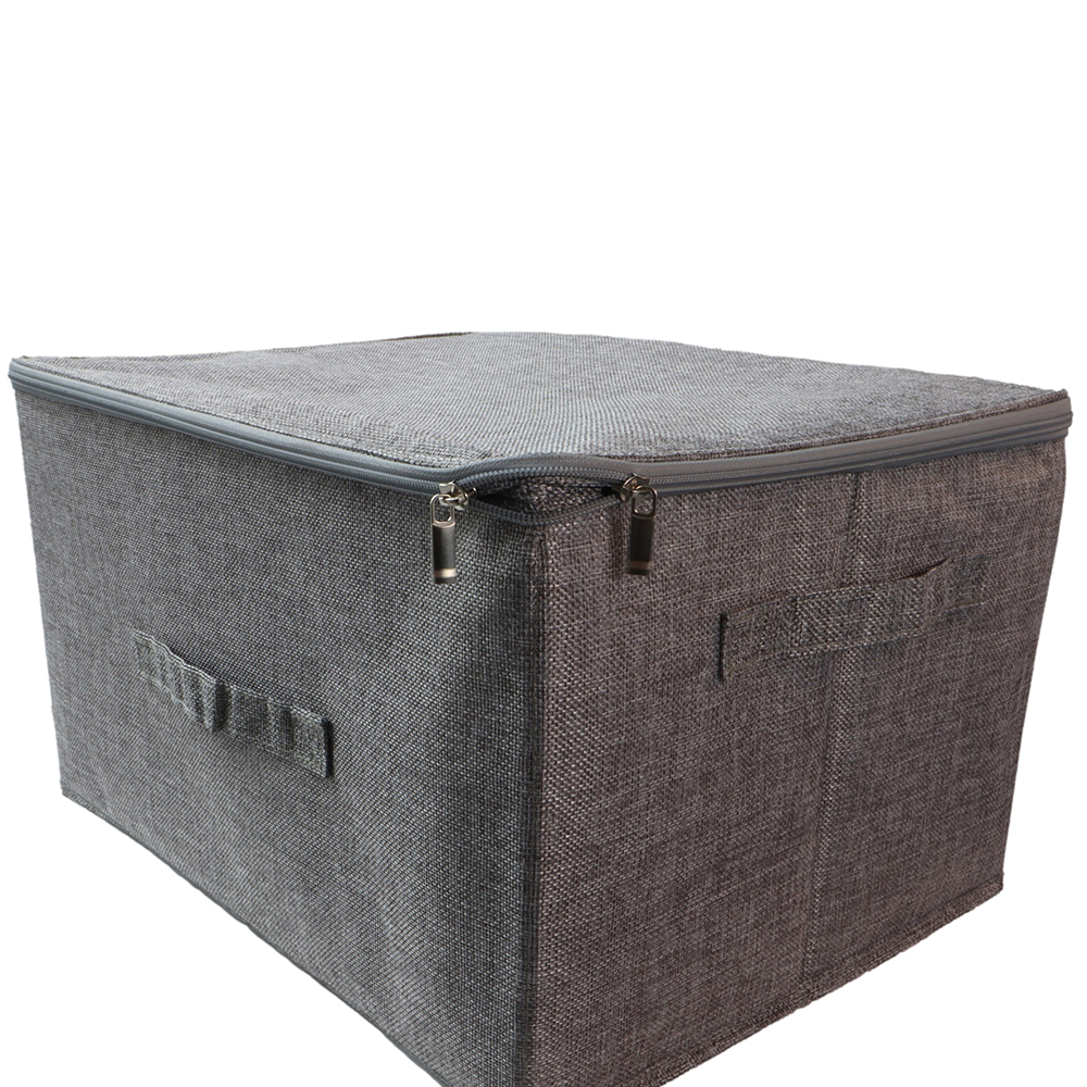 Polyester Fabric Clothes Storage Bins