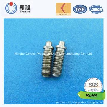 Caña roscada de precisión del mecanizado del CNC del proveedor de China