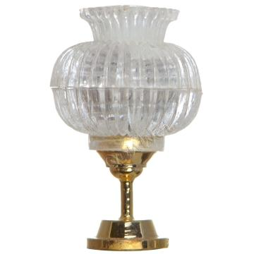 China for Dollhouse Miniature Lamp Table Victorian dollhouse miniatures table lamp supply to South Korea Factories