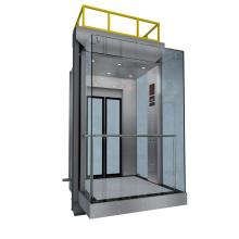 Ascenseur d'observation avec porte en verre Kjx-104G