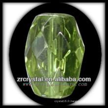 K9 Lustre en cristal avec pendentif vert