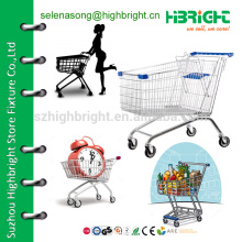 Колесная тележка для покупок, магазин для покупок в супермаркете