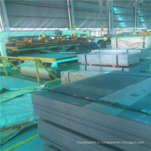 Propriété mécanique de bonne qualité Feuille d'acier laminée à froid