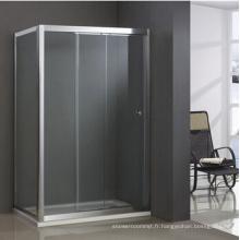 Porte de douche en verre rectangle