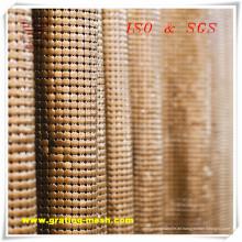 Hochwertiges dekoratives / Metallvorhang-Ineinander greifen für das Errichten