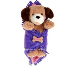 Plush stuffed Hold Blanket