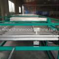 Máquina do secador do folheado do núcleo do rolo para a madeira compensada
