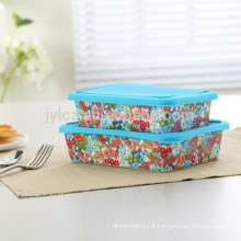 food storage rectangular shape