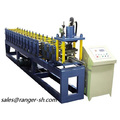 Shutter Slat Roll Forming Machine With Hydraulic Punching/Shutter roll forming machine line