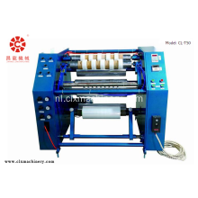 PE Plastic Film Stretch Rewinding Snijmachine