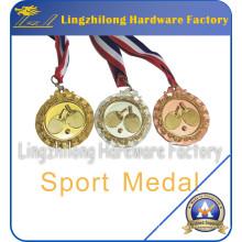 Médaille de sports de ping-pong faite sur commande