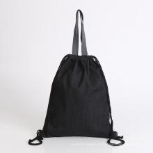 saco de algodão com bolsa de compras de cordas saco promocional