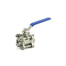 novo produto controle distribuidor de água queria ansi 3/4 polegada válvula de esfera de compressão
