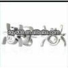 (WS1440) 2011 Mode boucles d'oreilles en acier inoxydable araignée