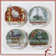 Melhor Preço Atacado Natal Cerâmica Porcelana Jantar Set Home Decor